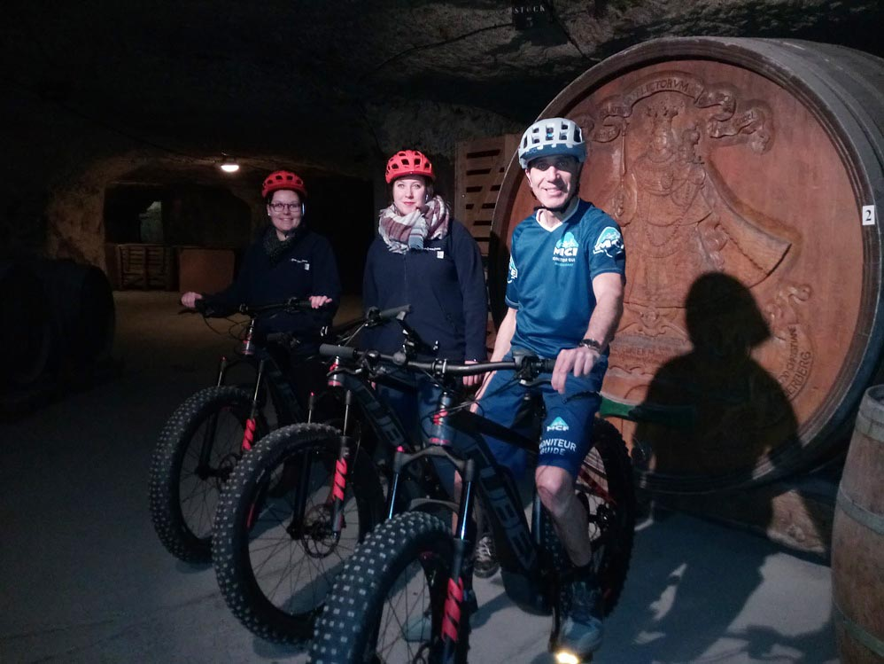 Easy Fat Bike Visite des Caves à Rochecorbon