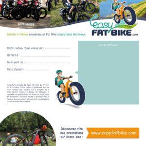 Carte cadeau Easy Fat Bike