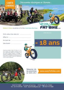 Carte cadeau Easy Fat Bike