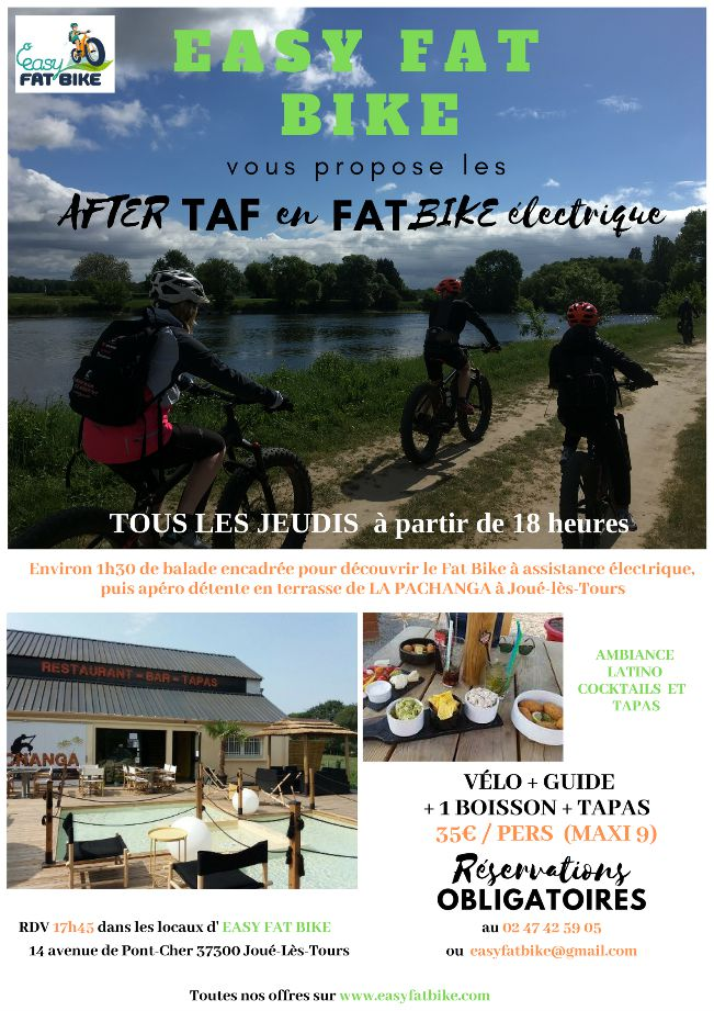 Les AFTER TAF avec EASY FAT BIKE